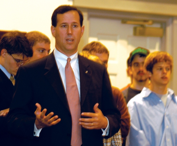 041019_amp+rick santorum speaks